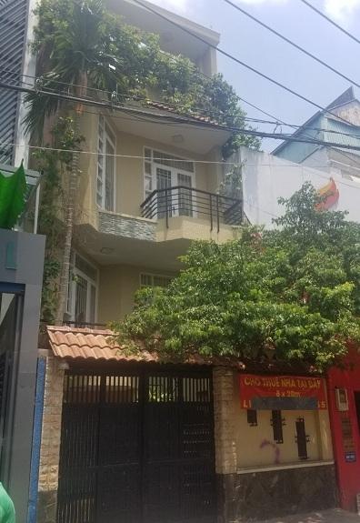 Cho thuê nhà quận bình thạnh cho thuê nhà mặt tiền đường Nguyễn Cửu Vân