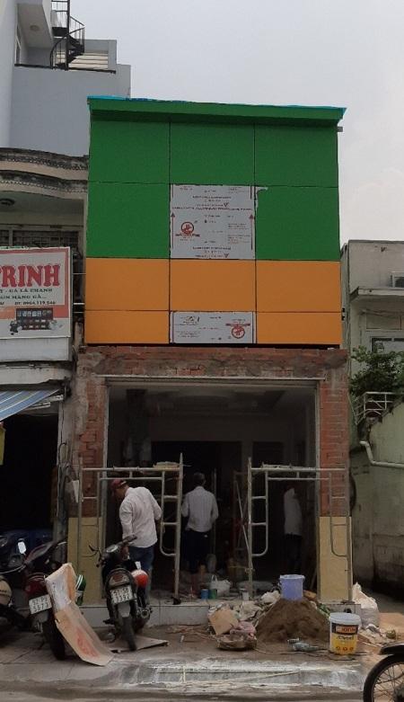 Cho thuê nhà quận Bình Thạnh, cho thuê nhà mặt tiền đường Nơ Trang Long