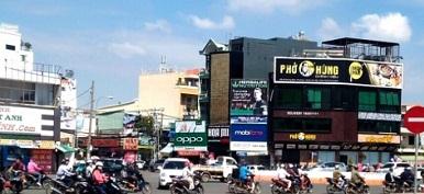 Cho thuê nhà quận gò vấp, cho thuê nhà nguyên căn mặt tiền đường Lê Quang Định