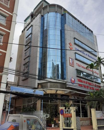Cho thuê toà nhà 2 mặt tiền đường Nguyễn Trọng Tuyển quận Phú Nhuận