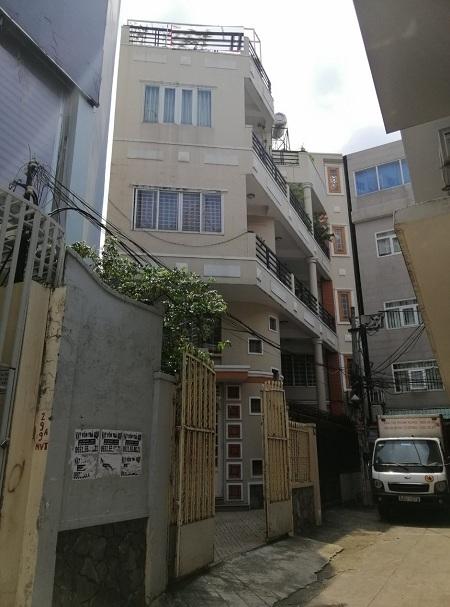 Cho thuê nhà nguyên căn đường Nguyễn Văn Trỗi quận Phú Nhuận 1 trệt 2 lầu