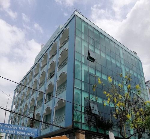 Cho thuê toà nhà mặt tiền đường Tân Sơn quận Tân Bình