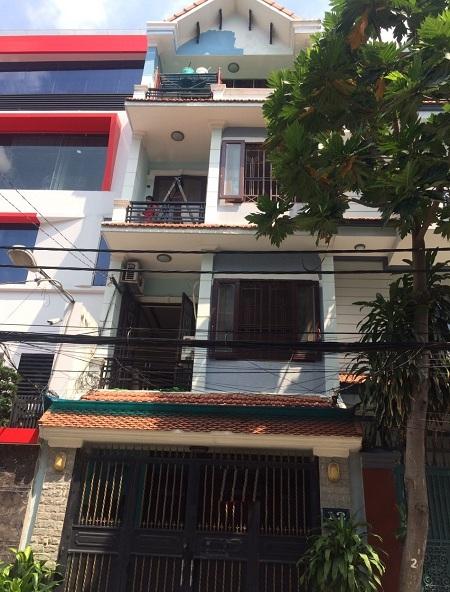 Cho thuê nhà quận Tân Bình, mặt tiền đường Nguyễn Văn Vĩnh