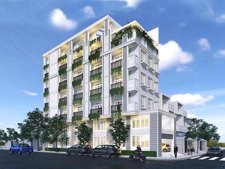 Cho thuê toà nhà 2 mặt tiền đường Bàu Cát 2 quận Tân Bình