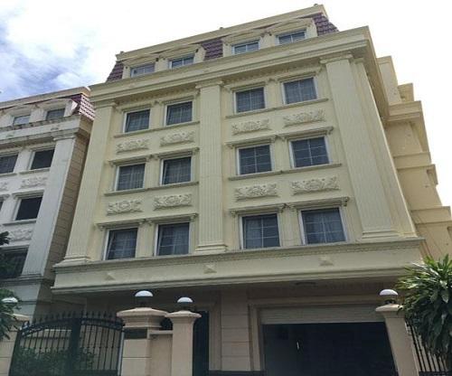 Cho thuê tòa nhà đường Nguyễn Văn Hưởng Quận 2 diện tích 10x20m 1 triệt 5 lầu