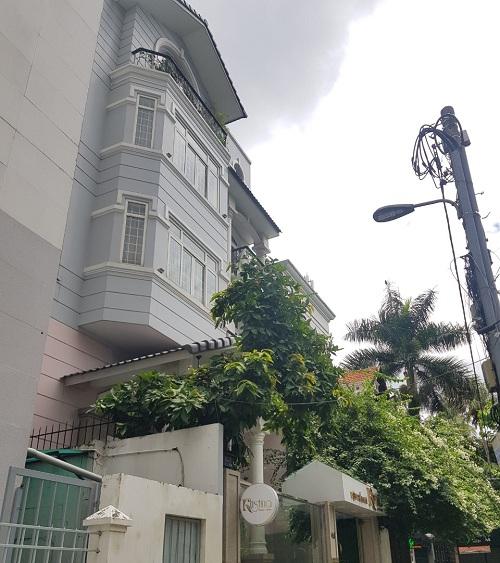 Cho thuê toà nhà đường Phạm Ngọc Thạch quận 3