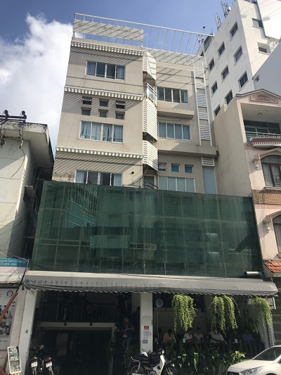Cho thuê tòa nhà mặt tiền đường Nguyễn Đình Chính