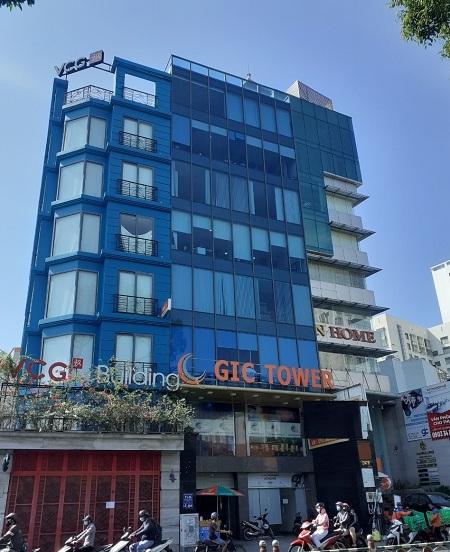 Cho thuê toà nhà đường Hoàng Văn Thụ quận Phú Nhuận