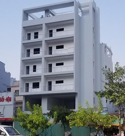 Cho thuê tòa nhà văn phòng mặt tiền đường Nguyễn Hữu Cảnh