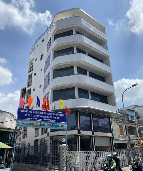 Cho thuê tòa nhà nguyên căn mặt tiền đường Nguyễn Văn Đậu quận Bình Thạnh
