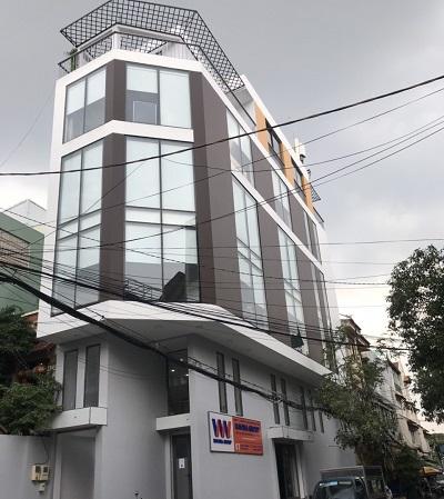 Cho thuê tòa nhà quận tân bình, tòa nhà 2 mặt tiền đường Nguyễn Văn Vĩnh quận Tân Bình