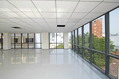 Cho thuê tòa nhà văn phòng 2 mặt tiền mới xây xong chưa sử dụng