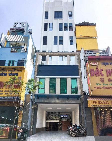 Cho thuê tòa nhà văn phòng đường Âu Cơ quận Tân Bình