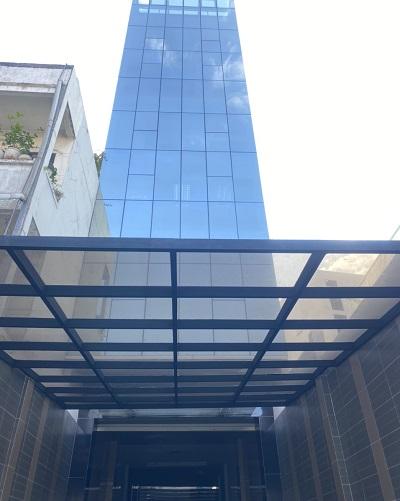 Cho thuê tòa nhà văn phòng đường Nguyễn Kiệm Quận Phú Nhuận 2 hầm 1 lửng 6 lầu