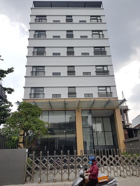 Cho thuê tòa nhà văn phòng mặt tiền Nguyễn Văn Đậu quận Bình Thạnh