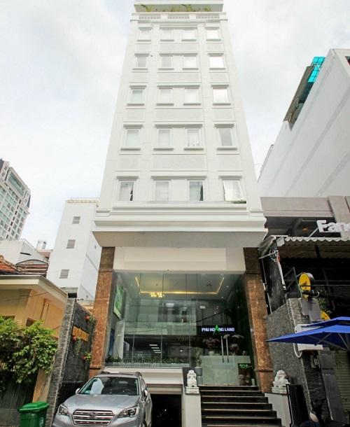 Cho thuê tòa nhà văn phòng quận 3, cho thuê tòa nhà đường Hồ Xuân Hương