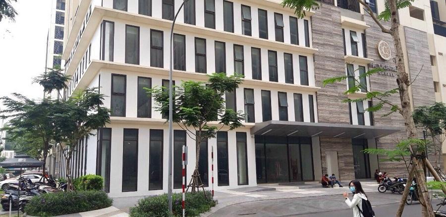 Cho thuê tòa nhà văn phòng trong khu Hà Đô Centrosa  quận  10
