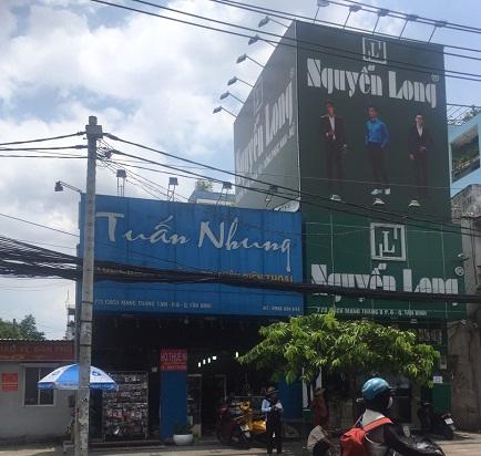 Có nhà cho thuê nguyên căn mặt tiền đường Cách mạng tháng tám quận Tân Bình