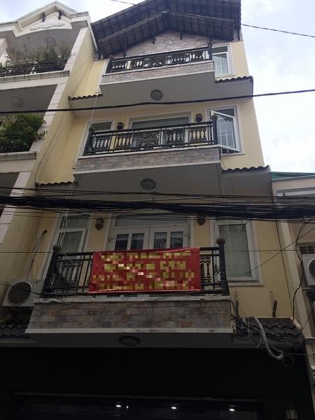 Nhà cho thuê  nguyên căn đường Nhiêu Tứ, Quận Phú Nhuận