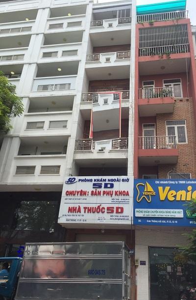Nhà cho thuê đường Cao Thắng quận 10