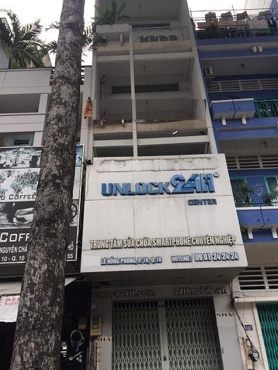 Nhà cho thuê đường Lê Hồng Phong Quận 10