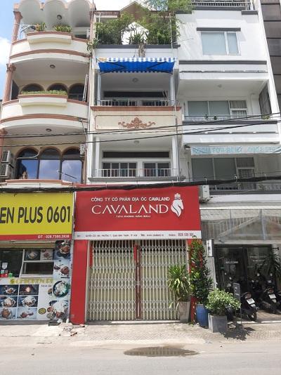 Nhà cho thuê đường Nguyễn Cửu Vân Quận Bình Thạnh
