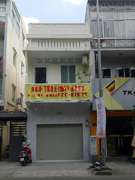 Nhà cho thuê nguyên căn mặt tiền đường Điện Biên Phủ, Quận 3