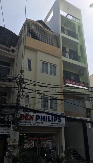 Nhà cho thuê nguyên căn mặt tiền Hoàng Kế Viêm quận Tân Bình