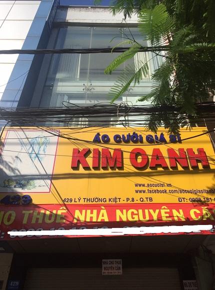 Nhà cho thuê nguyên căn mặt tiền Lý Thường Kiệt quận Tân Bình