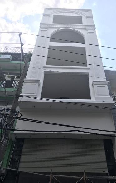 Cho thuê nhà mặt tiền Ngô Thị Thu Minh, Tân Bình nhà mới 100% chưa qua sử dụng