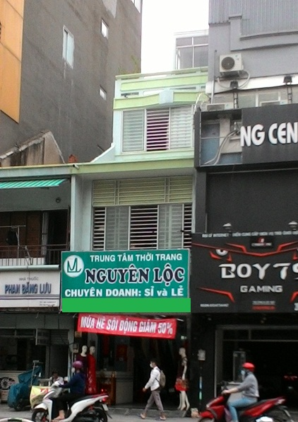 Nhà cho thuê nguyên căn mặt tiền Phan Đăng Lưu quận Phú Nhuận