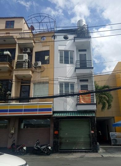 Nhà nguyên căn cho thuê mặt tiền Hậu Giang quận Tân Bình