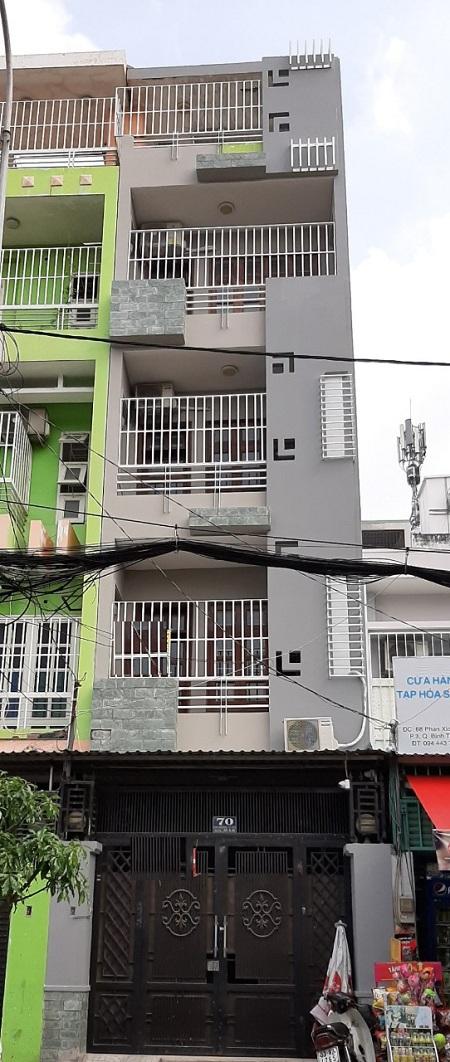 Thuê nhà nguyên căn Bình Thạnh, cho thuê nhà mặt tiền đường Nơ Trang Long