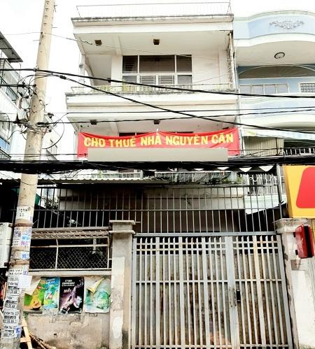 Thuê nhà nguyên căn quận Bình Thạnh, cho thuê nhà mặt tiền đường Phan Văn Hân