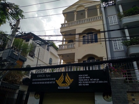 Thuê nhà nguyên căn Phú Nhuận, cho thuê nhà 3 mặt tiền đường Hồ Biểu Chánh