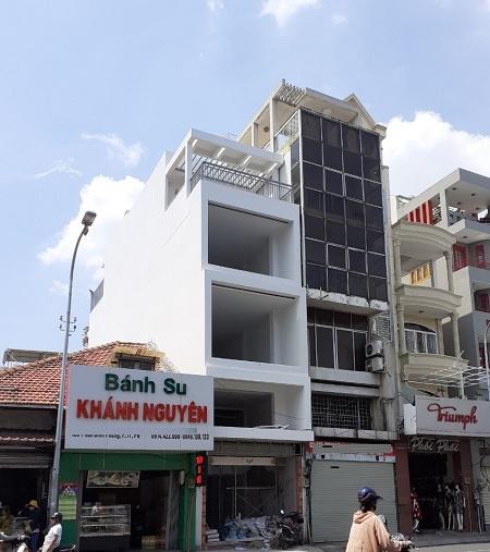 Thuê nhà Phú Nhuận, cho thuê nhà mặt tiền đường Phan Đình Phùng