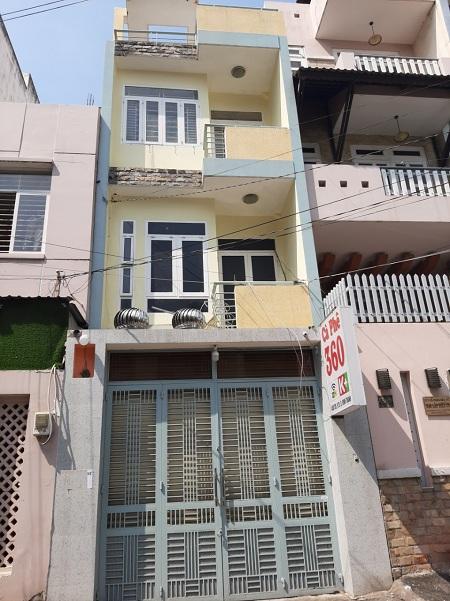 Thuê nhà quận Bình Thạnh, nhà nguyên căn đường D5