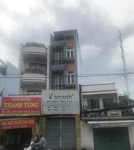 Thuê nhà quận gò vấp, cho thuê nhà nguyên căn mặt tiền đường Lê Quang Định