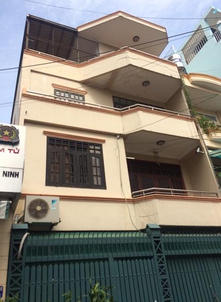 Cho thuê nhà 1 trệt 3 lầu giá 45tr/tháng phường 13 Quận Tân Bình