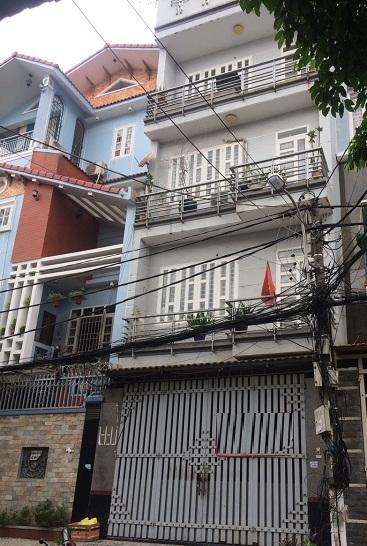Thuê nhà quận tân bình, cho thuê nhà nguyên căn mặt tiền đường Lê Văn Huân