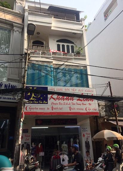 Thuê nhà quận tân bình, cho thuê nhà nguyên căn mặt tiền đường Nguyễn Thái Bình